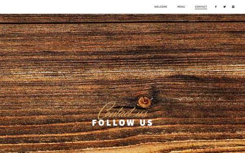 Screenshot of Contact Page rogersparksocial.com - Contact | - captured Nov. 5, 2014