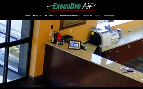 Screenshot of Blog executiveair.com - BLOG | Executive Air - captured Oct. 3, 2014