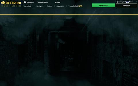 Screenshot of Support Page bethard.com - Asiakaspalvelu - captured Aug. 3, 2017