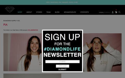 Screenshot of Blog Press Page diamondsupplyco.com - Diamond Supply Co. - captured Nov. 25, 2015
