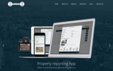 Screenshot of Home Page kaweb.co.uk - Kaweb   Birmingham Web Design & Digital Marketing Agency - captured June 9, 2017