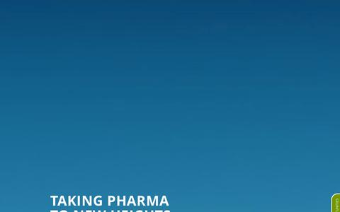 Screenshot of Home Page eirgen.com - EirGen Pharma | TAKING PHARMA TO NEW HEIGHTS - captured Oct. 2, 2014