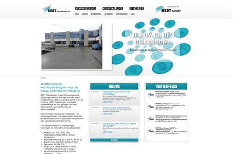 Screenshot of Home Page bestopleidingen.nl - Best Opleidingen B.V. - captured Oct. 5, 2014
