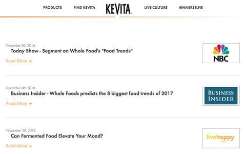 Press | KeVita