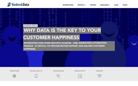 Screenshot of Blog bedrockdata.com - Integrations and Data Management Blog | Bedrock Data - captured Dec. 11, 2015