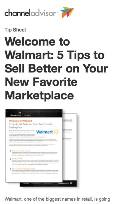 Welcome to Walmart: 5 Tips to Sell Better on Your New Favorite Marketplace