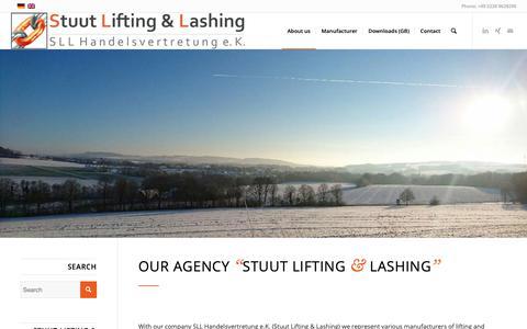 Screenshot of About Page lifting-lashing.de - About us – Stuut Lifting & Lashing - captured Oct. 1, 2018