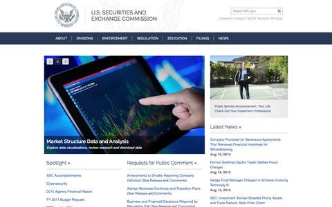 SEC.gov | Home