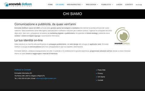 Screenshot of Team Page emmetek.com - Creazione siti web, e-commerce, siti wordpress  | Emmetek DotKom - captured July 18, 2018