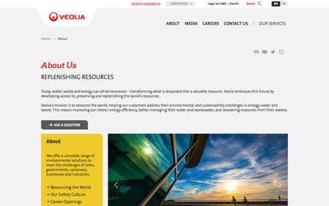 About Us | Veolia North America