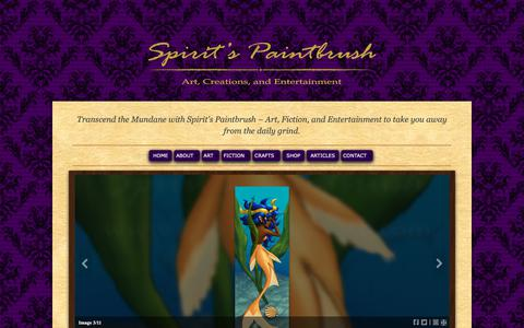 Screenshot of Privacy Page spiritspaintbrush.com - Privacy Policy « Spirit's Paintbrush - captured Oct. 20, 2018