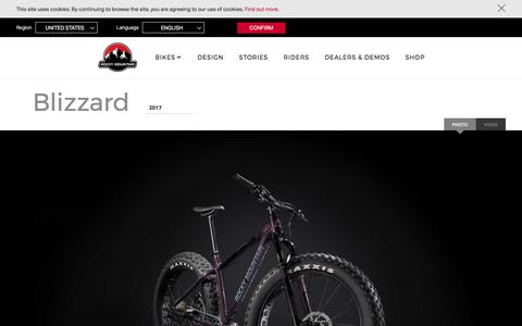 Blizzard | Rocky Mountain Bicycles