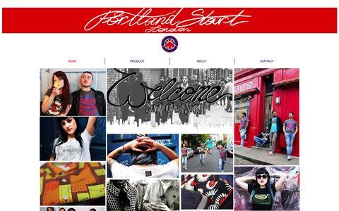 Screenshot of Home Page portlandstart.com - Portland Start | Commercial manufacturer | Own brand | London - captured Sept. 30, 2014
