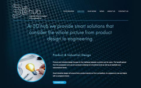 Screenshot of Services Page 3dhub.co.nz - Services — 3dhub - captured Nov. 28, 2016