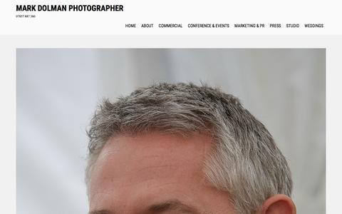 Screenshot of Press Page markdolman.co.uk - Press – Mark Dolman Photographer - captured Aug. 9, 2016