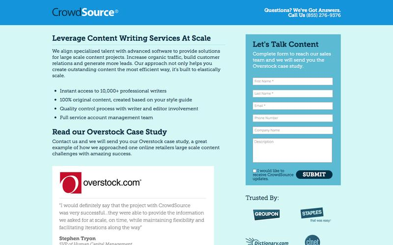 Let's Talk About Content Creation at Scale | CrowdSource