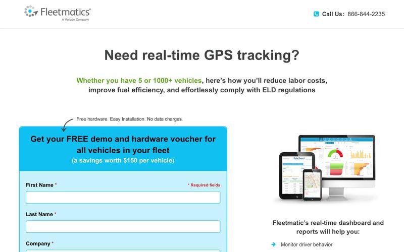 GPS Fleet Tracking | Fleetmatics IE