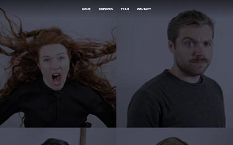 Screenshot of Team Page mediazoo.tv - Team : Mediazoo - captured Jan. 9, 2016