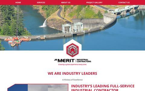 Screenshot of About Page jrmerit.com - About Us - JR Merit - captured Nov. 19, 2016