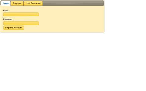Screenshot of Login Page cgj.com captured Nov. 1, 2014