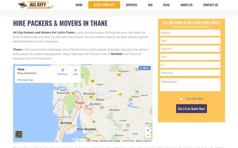 Packers and Movers in Thane - All City Packers and Movers Pvt Ltd.®