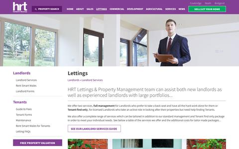 Screenshot of Team Page hrt.uk.com - Landlord Services | HRT - Herbert R Thomas - captured Aug. 4, 2017