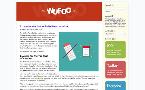 Wufoo · Blog