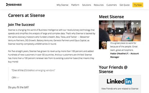 Sisense - Jobs