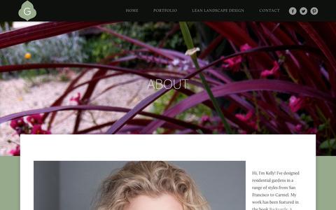 Screenshot of Contact Page wordpress.com - About   Greenwood Design Associates, LLC - captured Sept. 12, 2014