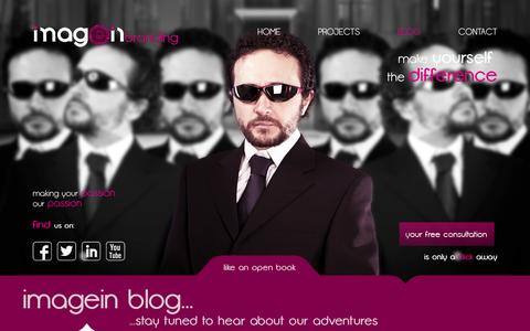 Screenshot of Blog imagein.com.au - BLOG | IMAGEIN BRANDING - captured Oct. 6, 2014