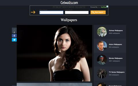 Screenshot of Home Page celwalls.com - Wallpapers - actress, actors, models, musicians, athletes, tv series, movies. Best HD wallpapers! - captured Sept. 22, 2018