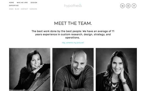 Team — Hypothesis Group