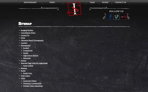 Screenshot of Site Map Page imagingstudios.com - Sitemap » Imaging Studios - captured Sept. 30, 2014