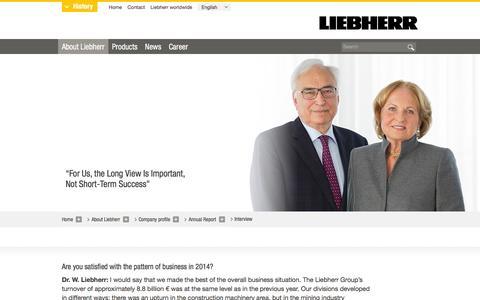 Screenshot of liebherr.com - Liebherr - captured May 8, 2016