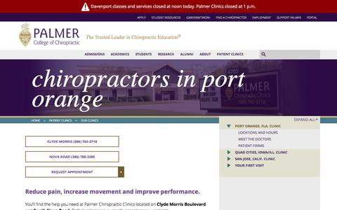 Chiropractors in Port Orange