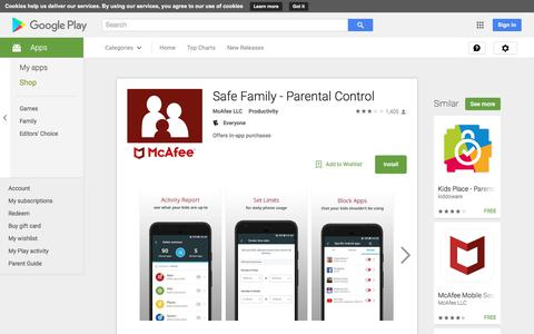 Safe Family - Parental Control - Android Apps on Google Play