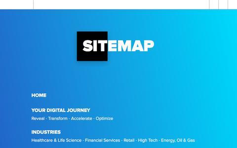 Screenshot of Site Map Page softserveinc.com - Sitemap   SoftServe - captured Feb. 2, 2020