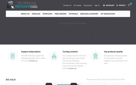 Screenshot of Home Page catalogo-onlinersi.net - Prestashop Templates & Prestashop modules, Paid templates and modules - Prestashop modules | templates - captured Oct. 21, 2018
