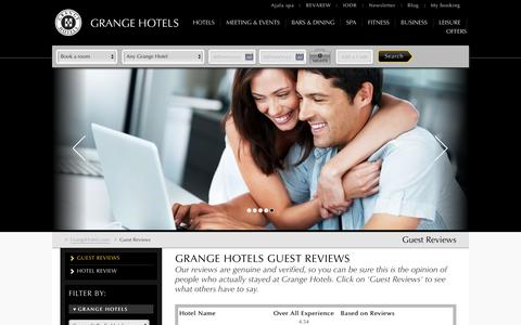 Hotel London Guest Reviews | Grange Hotels