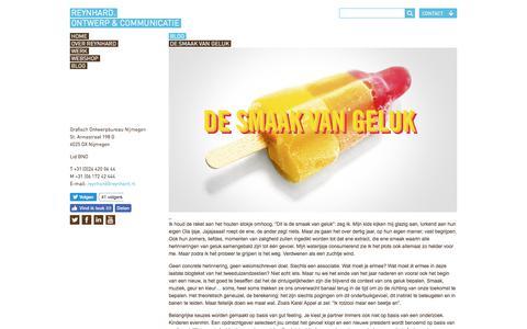 Screenshot of Blog reynhard.nl - REYNHARD | Blog over Merk Identiteit, Ontwerp en Communicatie - captured Oct. 22, 2017