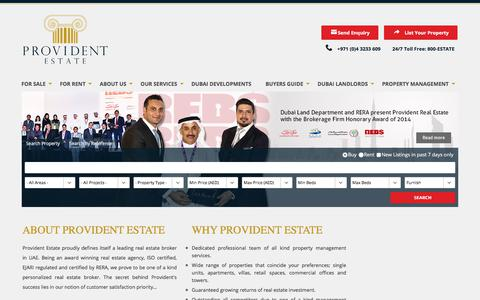 Provident Estate -  Buy, Sell or Rent Property In Dubai