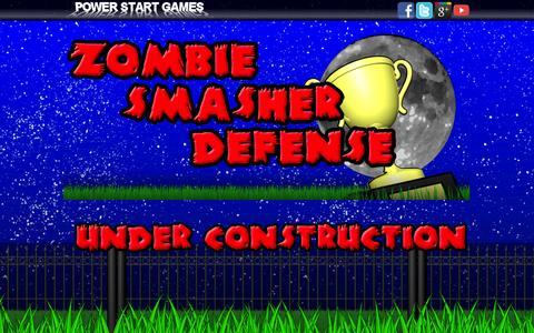 Screenshot of Home Page powerstartgames.com - Power Start Games - captured Sept. 30, 2014