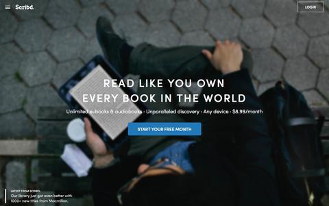 Scribd - Read Unlimited Books