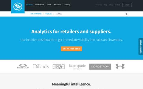 POS Analytics for Brands and Retailers | SPS Commerce