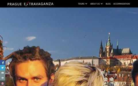 Screenshot of About Page extravaganzafreetour.com - Guides | Prague Extravaganza Free Tour - captured Oct. 28, 2014