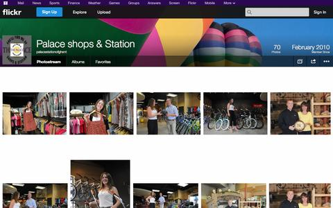 Screenshot of Flickr Page flickr.com - Flickr: palacestationofghent's Photostream - captured Oct. 22, 2014