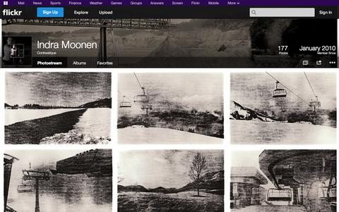 Screenshot of Flickr Page flickr.com - Flickr: Contrastique's Photostream - captured Oct. 23, 2014
