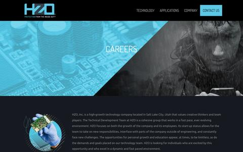 Screenshot of Jobs Page hzo.com - Careers at HZO - captured June 17, 2015