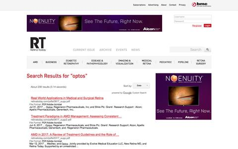 Retina Today - Search Results