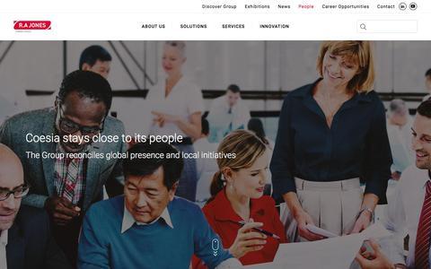 Screenshot of Team Page rajones.com - People   RAJones - captured July 13, 2018